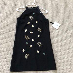 NWT Victoria Beckham for Target black halter dress